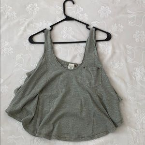 Open back free people top